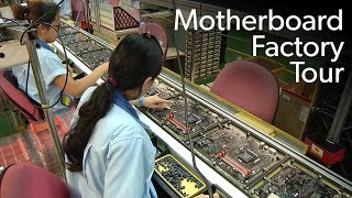 How a motherboard is made: Inside the Gigabyte factory in Taiwan