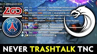 Why you never TRASHTALK Pinoy — TNC all-chatting LGD