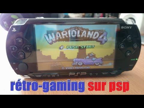 console portable PSP  pour le rétro-gaming
