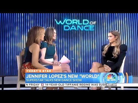 JLO - Chats World Of Dance & Does She Like JROD?  - Today Show