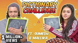 Sumedh Mudgalkar And Mallika Singh a.k.a Radha And Krishna Take Pictionary Challenge | Radhakrishn