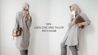 6 Tips Petite : Look Chic And Taller With Hijab (Semi-Formal Edition)
