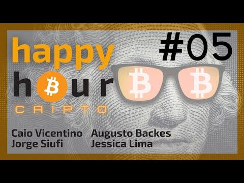 Happy Hour Cripto #05 - Augusto Backes, Jessica Lima & Jorge Siufi