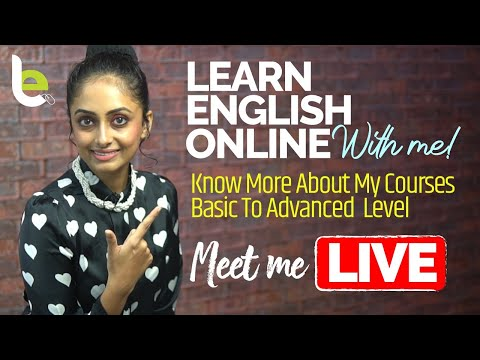 Learn English Online With Meera - Basic To Advanced Level ...