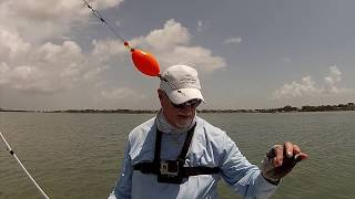 Trying a new Popping Cork on Speckled Trout and Redfish