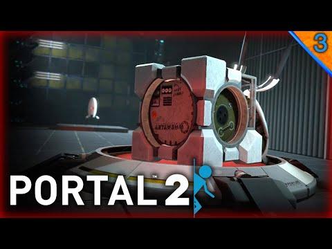 PORTAL 2 #3 | ESTO EMPIEZA A COMPLICARSE | Gameplay Español