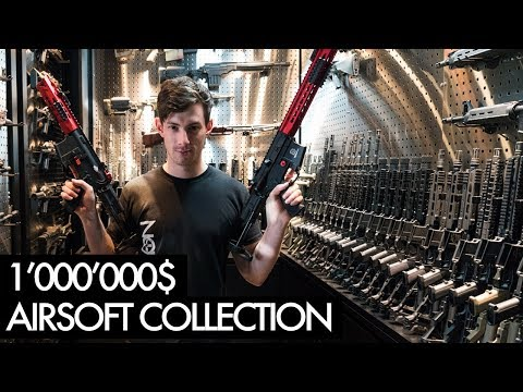 You've never seen an AIRSOFT ROOM like this