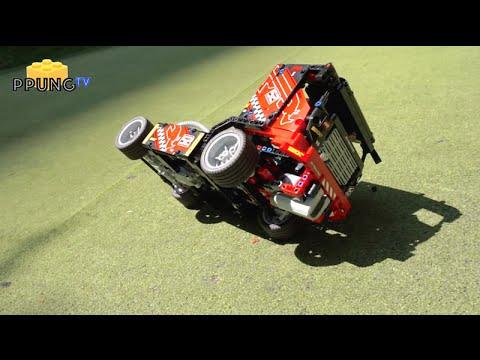 Vidéo LEGO Technic 42041 : Le camion de course