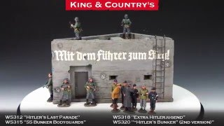 King & Country's Toy Soldiers - Hitler's Bunker (2nd version)