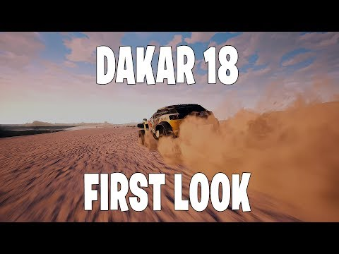 Gameplay de Dakar 18