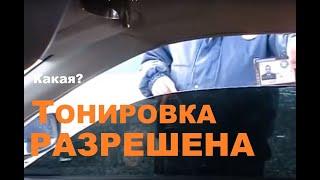 Съемная жесткая тонировка General и ДПС.