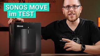 Sonos Move - Der mobile Smart-Speaker mit Amazon Alexa & Google Assistant im Test!
