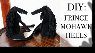 DIY: Mohawk Fringe Sandals
