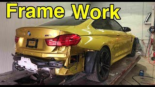 Rebuilding My Wrecked BMW M4 Part 1