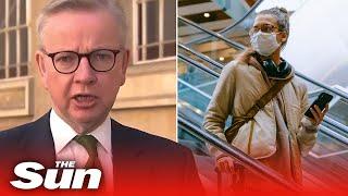 Michael Gove says wearing face masks in shops is NOT mandatory as coronavirus lockdown is eased