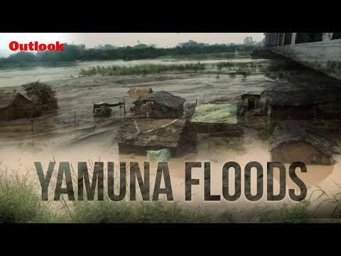 Water Level in Delhi's Yamuna Above Danger Mark, People in Low Lying Areas Evacuated
