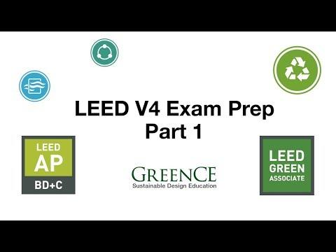 LEED v4 EXAM PREP PART 1 - YouTube