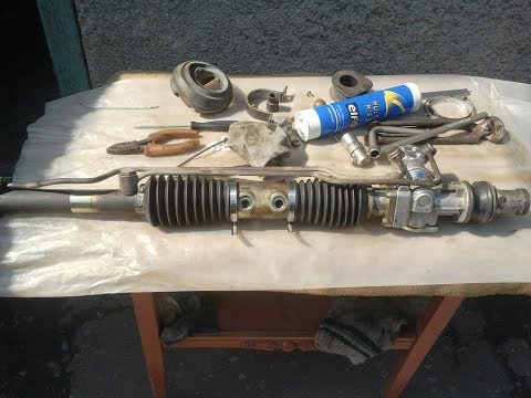 ремонт рулевой рейки, часть 1 : opel vectra / astra / calibra / kadet