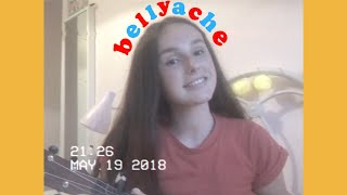 "Video thumbnail of ""Bellyache - Billie Eilish (Ukulele Cover & Chords)"""