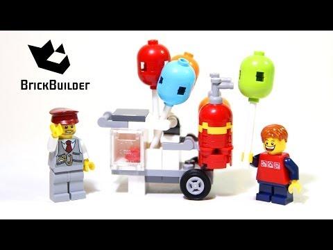Vidéo LEGO Creator 40108 : Le stand de ballons