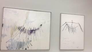 Cy Twombly @ Centre Pompidou. November 2016.