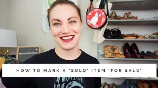 Poshmark Tip : How to Mark a Sold or Cancelled Listing 'For Sale'   EVERYDEYSTYLE