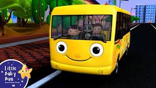 Wheels On The Bus | Part 1 | Nursery Rhymes | HD Version from LittleBabyBum