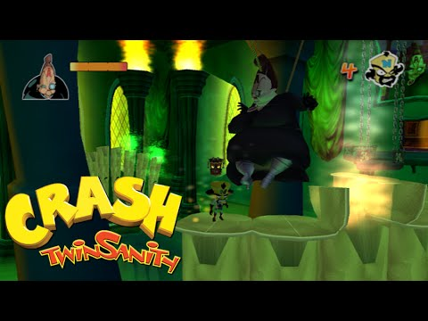 Crash Twinsanity Walkthrough - Part 12 - Academy of Evil by