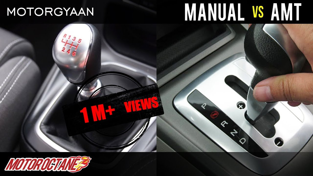 Motoroctane Youtube Video - Manual or AMT? Which is better? | Hindi | MotorOctane