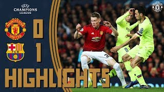Highlights | Manchester United 0-1 FC Barcelona | Reds Rally Despite Early Setback