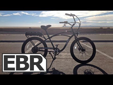 Pedego Interceptor Video Review – Strong Cruiser Style Electric Bike with Pedal Assist and Throttle