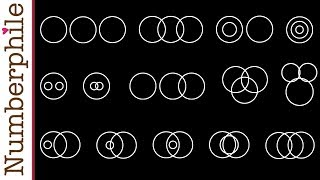 How many ways can circles overlap? - Numberphile