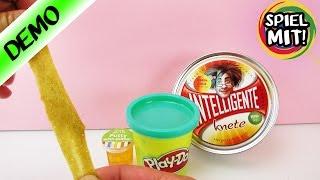 Kann man die selbst gemachte Goldrauschknete mit Intelligenter Knete, Play-Doh oder Putty mischen?