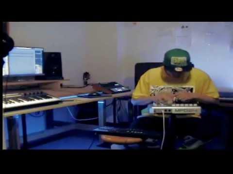 MPD 24 Live Beat Making- Dj Cdp ( Yo Mars)