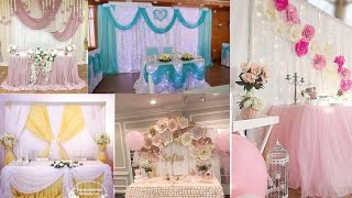 Beautiful Decoration 2020 /Engagement Party 2020 /Latest Best Decorection Engagement Table New 2020