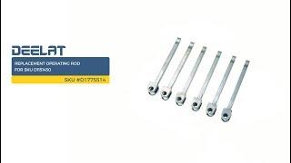 Replacement Operating Rod for SKU D1151450 (60-709-01)     SKU #D1775514
