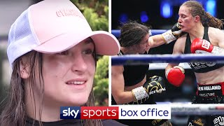 """It was a bit wide!"" 