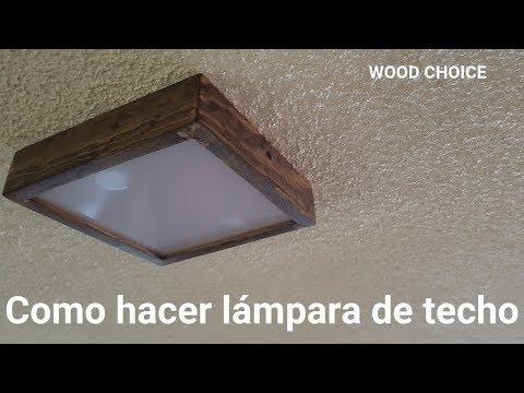 Como hacer Lampara LED para el Techo