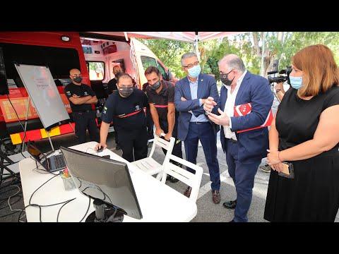 Dispositivo de apoyo del CPB a la contención de incendios forestales