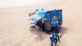 (POV) Inside the Kamaz Truck | Dakar 2018