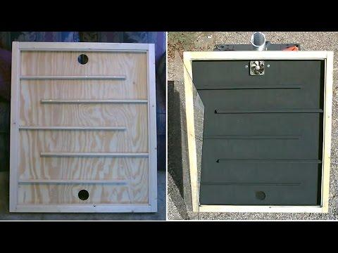 Solar Thermal Air Heater The Diy Flat Panel Solar Air Heater