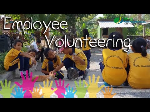Trauma Healing SDN Nyurlembang   Employee Volunteering BPJS Ketenagakerjaan Kantor Cabang NTB 2018