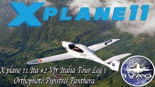 X-Plane 11] Ultrawide Rain Landing - Aerobask Pipistrel Panthera v3
