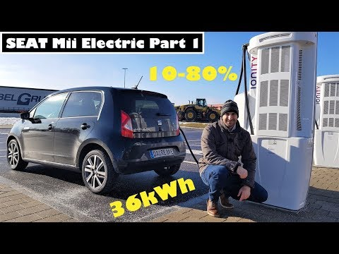 Seat Mii Electric 36kWh Serie PART 1: LADESPEED TEST + Wissen To Go!