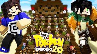 """SFIDO EREN AL MINIGAME """"INDOVINA IL POKEMON"""" - Minecraft ITA - Let's GO Pixelmon #20 W/ErenBlaze"""