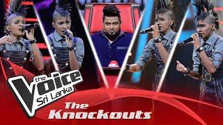 Harshi Hewawitharana | Malwaaram (මල්වාරම්) | The Knockouts | The Voice Sri Lanka