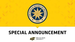 Wichita State University - KBOR Elects the 15th President