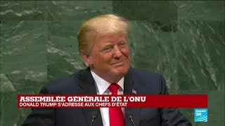 REPLAY - Discours de Donald Trump à l
