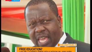 The Roundtable: Free Education - Jubilee ,NASA clash over promise - Part One