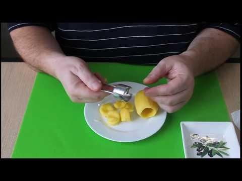 Нож для вырезания середины у картофеля